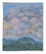 The Other Side Of The Sunset Fleece Blanket