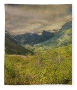 The Other Side Of Trollstigen Norway Fleece Blanket