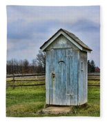 The Outhouse - 4 Fleece Blanket