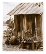 The Outhouse Fleece Blanket