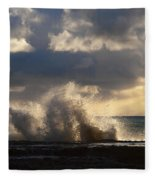 The Pacific Calms Down Fleece Blanket