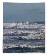 The Pacific Ocean Near Oceanside Ca Fleece Blanket