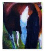 The Paint Fleece Blanket