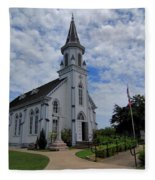 The Painted Churches Fleece Blanket