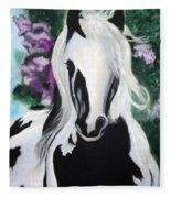 The Painted One Fleece Blanket