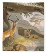 The Pallah, 1804-05 Fleece Blanket