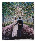 The Path Of Love  Fleece Blanket