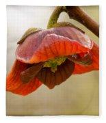The Paw Paw Bloom Fleece Blanket
