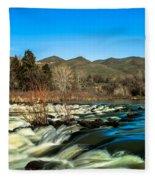 The Payette River Fleece Blanket