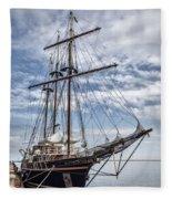 The Peacemaker Tall Ship Fleece Blanket