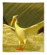 The Pelican Lands Fleece Blanket