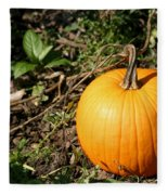 The Perfect Pumpkin In The Patch Fleece Blanket