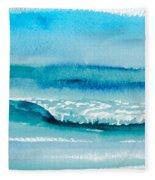 The Perfect Wave Fleece Blanket