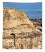 The Petrified Log Fleece Blanket