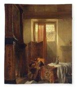 The Philosopher Fleece Blanket