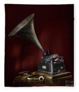 The Phonograph 5 Fleece Blanket