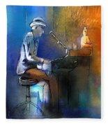 The Pianist 01 Fleece Blanket