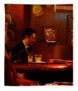 The Piano Bar Fleece Blanket