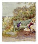 The Picture Book Fleece Blanket