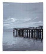 The Pier Fleece Blanket