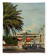 The Pier 2 -  St. Petersburg Fl Fleece Blanket