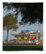 The Pier - St. Petersburg Fl Fleece Blanket
