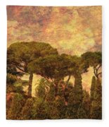 The Pines Of Rome Fleece Blanket