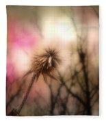 The Pink Light Fleece Blanket