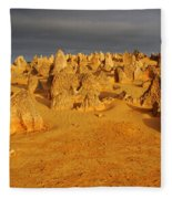 The Pinnacles 4 Fleece Blanket