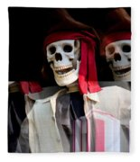 The Pirate's Ghost Fleece Blanket