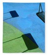 The Playground Fleece Blanket