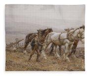 The Ploughman Wilmington Polegate Near Eastbourne Fleece Blanket