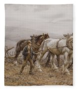 The Ploughman Wilmington Polegate Near Eastbourne Fleece Blanket