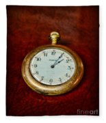 The Pocket Watch Fleece Blanket