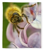 The Pollinator Fleece Blanket