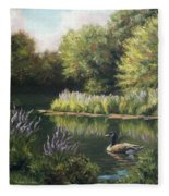 The Pond Fleece Blanket