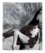 The Pony Express Fleece Blanket