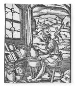 The Potter, 1574 Fleece Blanket