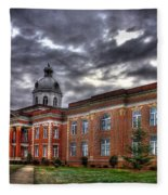 The Powerhouse Putnam County Court House Fleece Blanket
