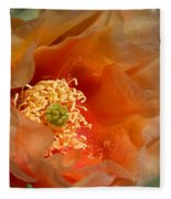The Prickly Pear World Fleece Blanket
