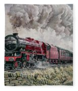 The Princess Elizabeth Storms North In All Weathers Fleece Blanket