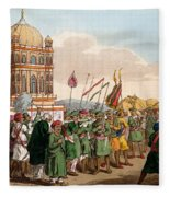 The Procession Of The Taziya, From The Fleece Blanket
