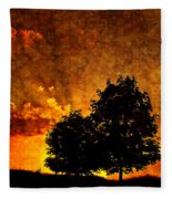 The Promise Overlay Version Fleece Blanket