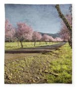 The Promise That Spring Makes Fleece Blanket