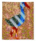 The Pukeko Fleece Blanket