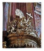 The Pulpit Fleece Blanket