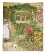 The Puppy Fleece Blanket