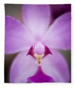 The Purple Orchid Fleece Blanket