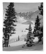 The Quiet Season Fleece Blanket