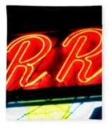 The R And R Fleece Blanket